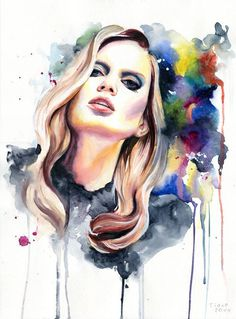 Watercolor Paintings by Cora and Tiana #watercolor #paintings