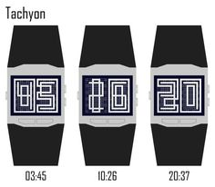 Tachyon LCD Watch