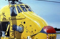 All sizes | Wessex. d1 | Flickr - Photo Sharing! #yellow #helicopter #wessex #rescue #painting #raf