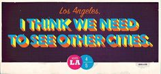 Adios LA #typography #advertising #los angeles #billboard