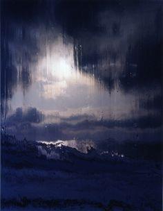 Jorma Puranen #blue #painting #art
