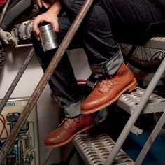 HELM Boots | American Made Working Boots, Most Comfortable Fashion Work Boots For Men #fashion #boots #jeans