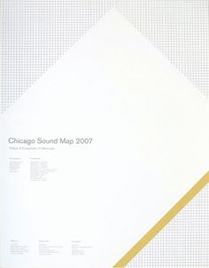 Chicago Sound Map | Sonnenzimmer - Sonnenzimmer #screen #print #poster #sonnenzimmer