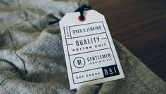 Dyer & Jenkins on Behance #design #tag #branding #hang