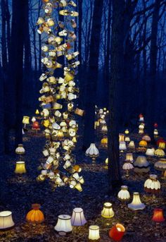 The Dreamlike Installation Art Of Rune Guneriussen