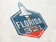 Florida 321 #logo #design #graphic