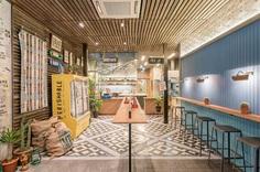 Park Bench Deli — Branding & Space on Behance