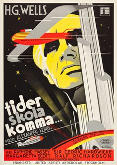 20 Swedish Posters for 1930s Hollywood 50 Watts