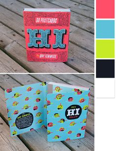 Hi by Ray Fenwick #cover #design #graphic #book