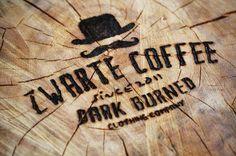 Zwarte Coffee men's clothing brand #lettering #clothing #brand #coffee #logo