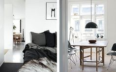 Graphic-ExchanGE - a selection of graphic projects #interior #design #white #rooms