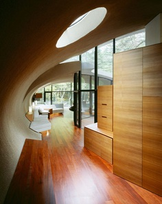 Shell House | Futuristic Forest Home by Artechnic