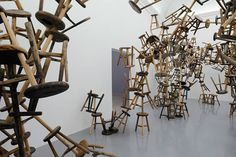 CJWHO ™ (Ai Weiwei's Bang Installation at Venice Art...)