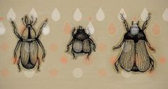 Bugsket on the Behance Network #bugs #pattern