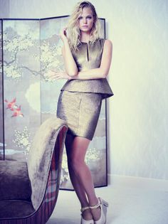 Эрин Хитертон в Elle US #fashion #photography