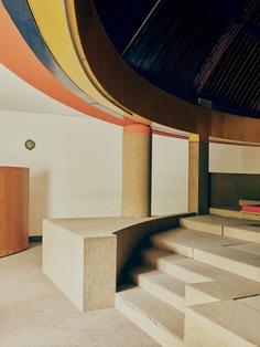 The interior of the former La Serra Complex.