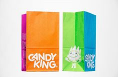 BVD — Candy King #packaging #candy #identity #pickmix #bvd #king