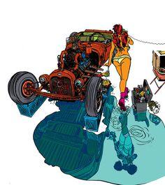 Nathan Fox Illustrations (12)