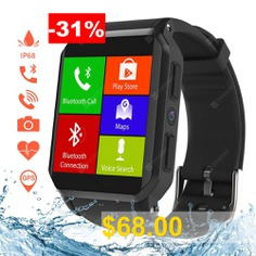 Kospet #kw06 #IP68 #Waterproof #Android #5.1 #OS #3G #Phone #Call #Smartwatch #with #Heart #Rate #Monitor