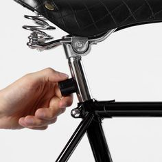These quick attach and remove magnetic bike lights keep you visible while riding on the road. #design #product #industrial #outdoor #fun
