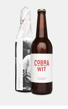 Cobra Wit #packaging #beer #bottle #pack
