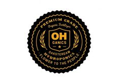 OH Ganics Logo #logo #branding #seal #badge