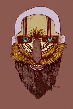Zeque Penya | Illustration #zeque #el #paso #illustration #maintain #face #penya