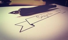 Originals #lettering #ink #originals #handwriting #quill #letter #paint #art #typography