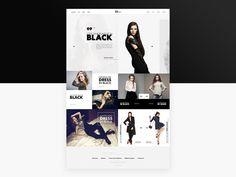 EDStore Fashion Store Template #fashion #template #psd #freebie