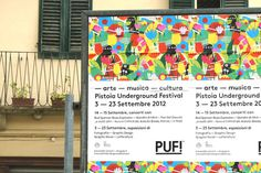 PUF!xe2x84xa2 Festival - Brand Identity #festival #print #design #graphic #culture #illustration #identity #signage #typography
