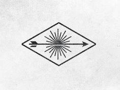 FFFFOUND! | Dribbble - To Resolve Logo, yet again. by Chris Streger