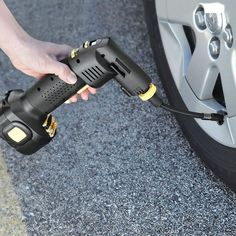 Automatic Cordless Tire Inflator #tech #flow #gadget #gift #ideas #cool
