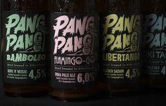 PangPang Brewery Summer Beer Series — The Dieline #packaging #beer #bottle