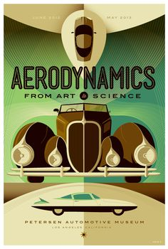 petersen automotive museum: aerodynamics poster by *strongstuff on deviantART #aerodynamics #whalen #tom #illustration #poster #type #car #lost