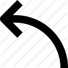 See more icon inspiration related to left, arrows, curve arrow, curve, direction, ui, Trajectory, left arrow and point to on Flaticon.