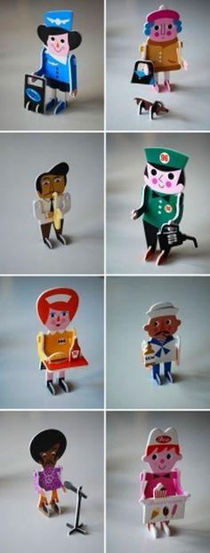 design work life » cataloging inspiration daily #letterpress #puzzle #p #ingela #arrhenius #character #parade