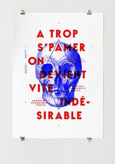 Spam #graphiquerie #poster