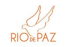 Logo ONG Rio de Paz #branding #rio #dove #orange #de #logo #paz