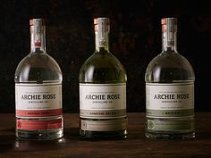 Archie Rose Spirit Range by Squad Ink / AGDA Awards