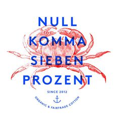 sketch #design #graphic #illustration #nullkommasiebenprozent #marine #anchor #crab #typography