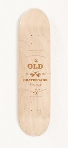 Old Skateboards / Limited Edition #skateboard