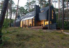 Black House Blues by Studija Archispektras #architecture #minimalism #minimal interior