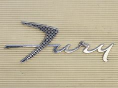 Vintage Vehicle Logotypes « Beast Pieces #fury #car #vintage #name