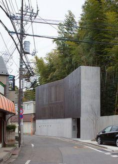 House in Inokashira / Studio NOA #houses #architecture #facades