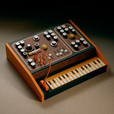 Galleries Product Design Miniatures Objects Fubiz™ #miniatures #synth #craft #art #paper