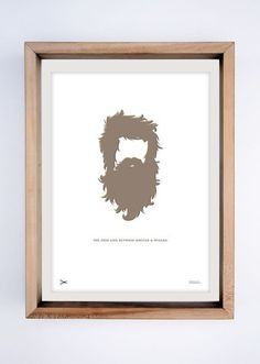Hipsters & Wizards #white #print #hipster #clean #hair #illustration #brown #minimal #poster #silhouette #trend #wizard