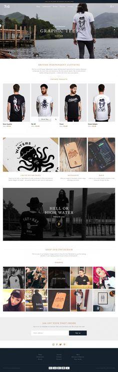 F & L co. brand t-shirt fashion clothing website webdesign modern cool beauty beautiful modern simple minimal award best nice cool beautiful