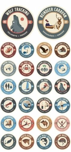 Designchapel #illustration #vintage #badges
