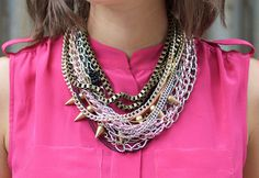 diy chain necklace a pair and a spare 11 #chain #necklace