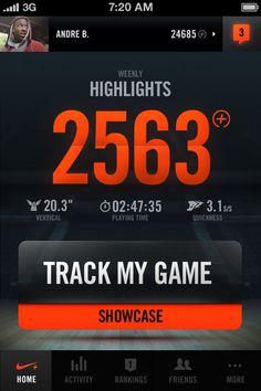 Nike+ Basketball #type #bold
